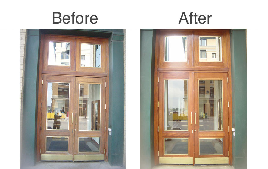 before-after-wood_door